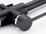 Смеситель для кухни MATRIX SMF-323607/BK 2 в 1 с краном для питьевой воды