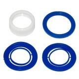 Ремкомплект для гофрированных сифонов пластик(ПВХ) 1253