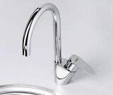 Смеситель для кухни WasserKRAFT с поворотным изливом Leine 3507