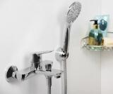 Смеситель для ванны WasserKRAFT с коротким изливом Lippe 4501
