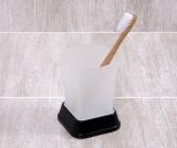 Стакан для зубных щеток WasserKRAFT K-5428BLACK