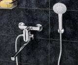 Смеситель для ванны WasserKRAFT с длинным поворотным изливом  Vils 5602L