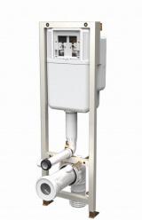 Комплект инсталляция для унитаза SIAMP ВСМ 536 (клавиша белая)