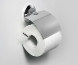 Держатель туалетной бумаги с крышкой WasserKRAFT K-6225