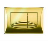 Панель механ. двойная RIVER, пластик, золотой, OLI