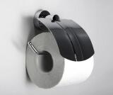 Держатель туалетной бумаги с крышкой WasserKRAFT K-9425