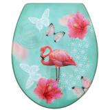 Сиденье для унитаза ST MDF-016 'Фламинго'