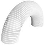 Воздуховод алюминиевый с покрытием '10VA white' Ø 100 белый