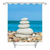 Штора для ванной комнаты с кольцами ФОТОПЕЧАТЬ ST CT1218-08633 180х180