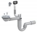 Сифон-трансформер для кухонной мойки №15 (D-114), Prevex