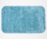 Коврик для ванной комнаты 90х57 см Turquoise  WasserKRAFT Wern BM-2593