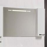 Зеркальный шкаф (Диор-100) белый