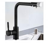 Смеситель для кухни MATRIX SMF-323267/BK (2 в 1) для фильтра питьевой воды
