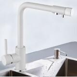 Смеситель для кухни MATRIX SMF-323267/WT (2 в 1) для фильтра питьевой воды
