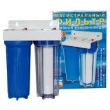 Магистральный фильтр для воды S-T MF01002 с картриджем