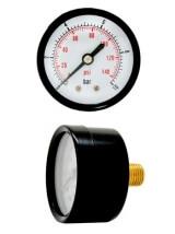 Манометр горизонтальный ST HP SKY050/10 (до 10 атм) 1/4 дюйма