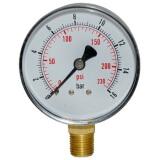 Манометр вертикальный ST SKX060/16 (до 16 атм) 1/4 дюйма