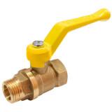 Кран газовый VALFEX 1/2 дюйма F-M ручка