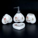 Набор для ванной комнаты керамика YU001-4