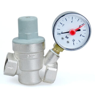 Компенсатор давления с манометром S-T 3/4 дюйма