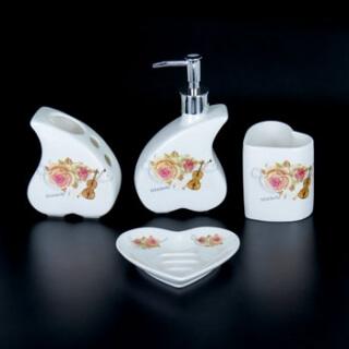 Набор для ванной комнаты керамика YU004-4